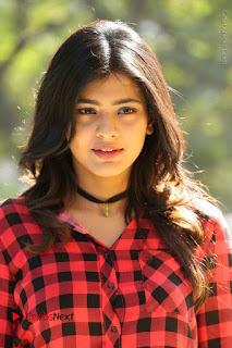 Actress Hebah Patel Stills in Blue Denim Jeans at Nanna Nenu Naa Boyfriends Movie Success Meet  0012.JPG