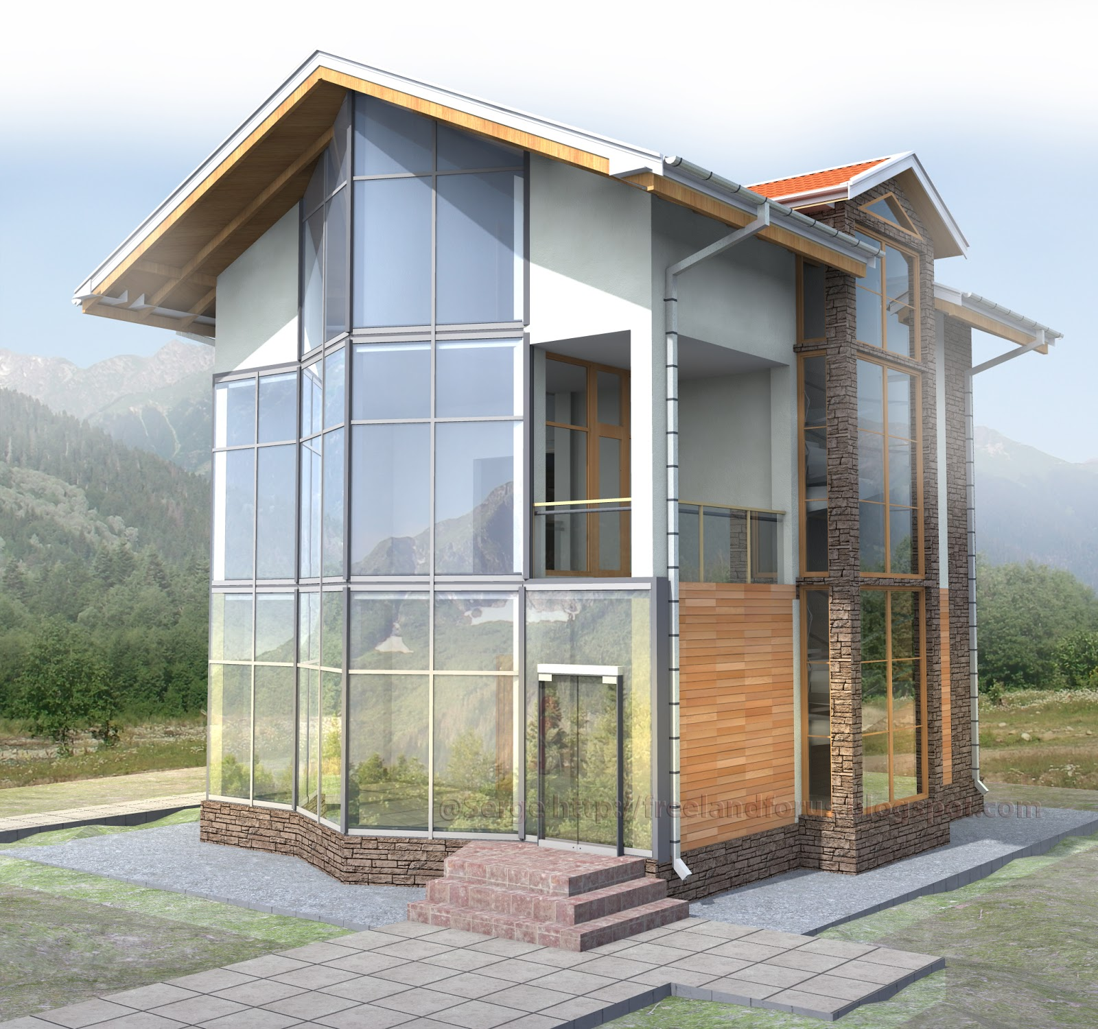 Chalet style house for Building a chalet home