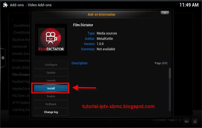 Film Dictator Add-on For Kodi / Xbmc ,metalkettle Repo - New Kodi