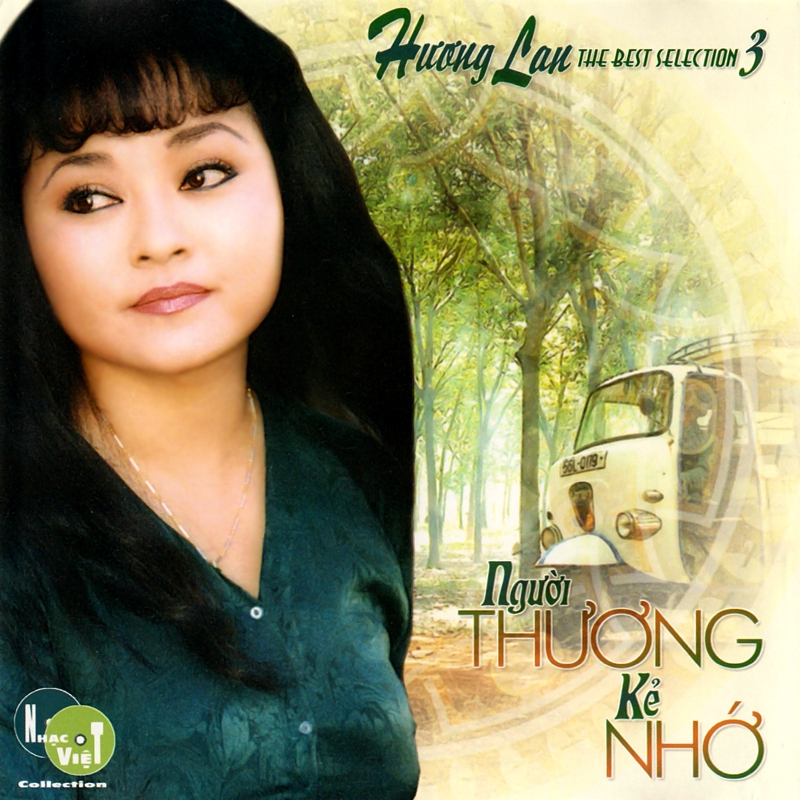 Nhạc Việt CD - Hương Lan - Người Thương Kẻ Nhớ (NRG) + bìa scan mới