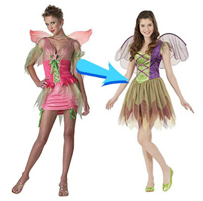 modest fairy Halloween costumes