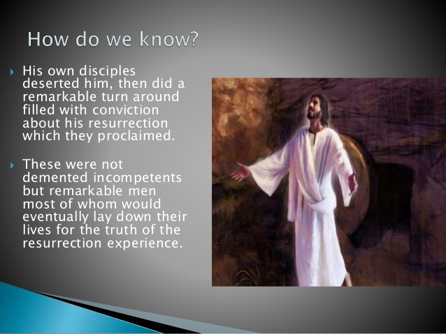 resurrection of jesus essay Bishop spong on: the resurrection the essay below was paul did not envision the resurrection as jesus being restored to life in this world but as jesus being.
