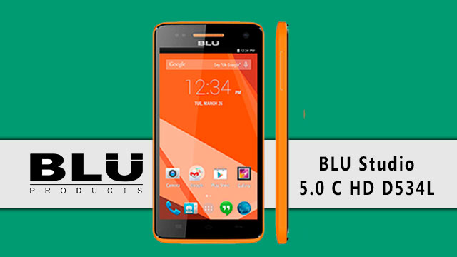 rom stock BLU Studio 5.0 C HD D534L