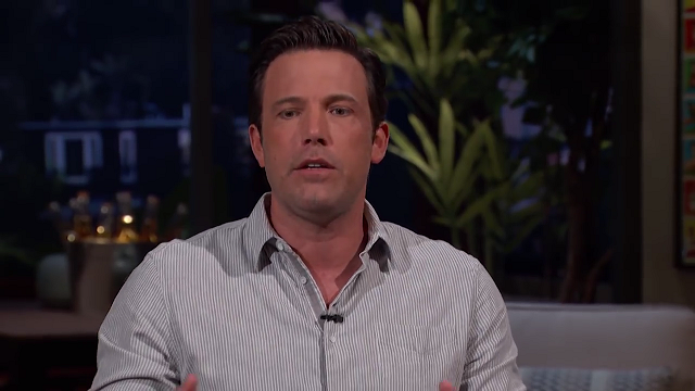ben affleck hair face