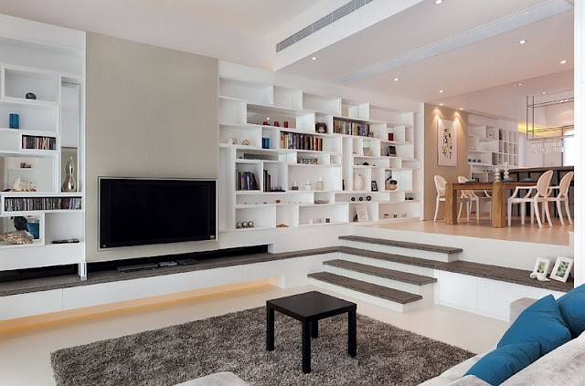 Furniture Arrangement Ideas for Small Sunken Living Rooms