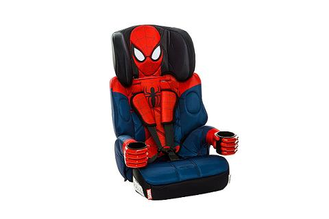 Kids Spiderman Car Seat with cup holders Review