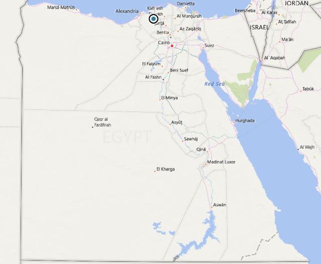 خريطة مصر Egypt Map