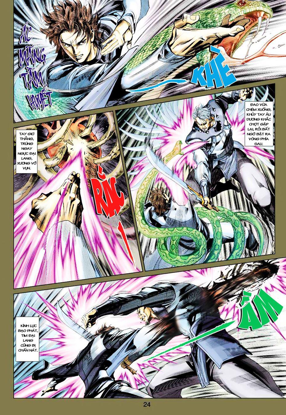 Anh Hùng Xạ Điêu anh hùng xạ đêu chap 35 trang 24