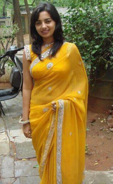Yellow Saree With Black Border