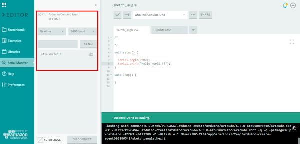 IDE execução do código