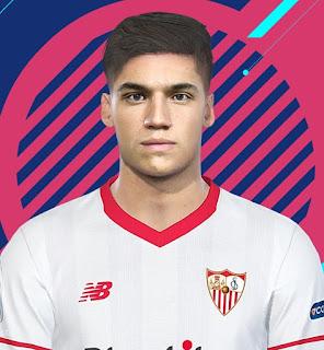PES 2018 Faces Joaquín Correa by Kelvinchan327