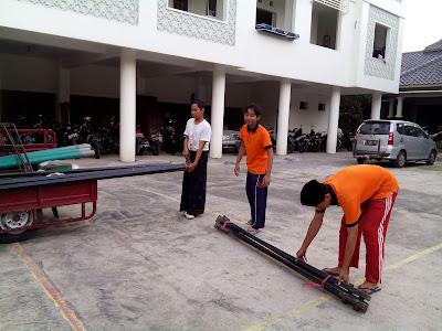 Persiapan Praktik Manasik oleh Crew KBIH