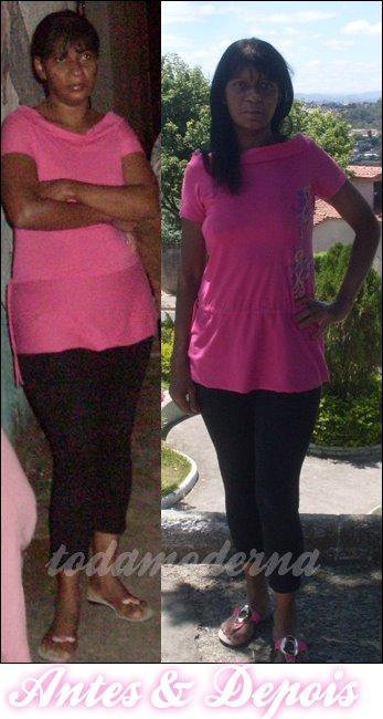Como anda minha  Dieta ou melhor RA (Reeducação Alimentar) - Fotos de antes e depois