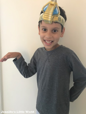 Printable 3D Egyptian headband from Twinkl
