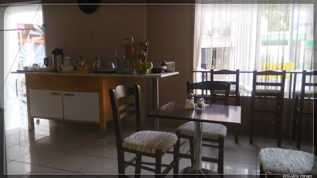 """Αίθουσα πρωινού ξενοδοχείου 'ΚΕΝΤΡΙΚΟΝ"""""""