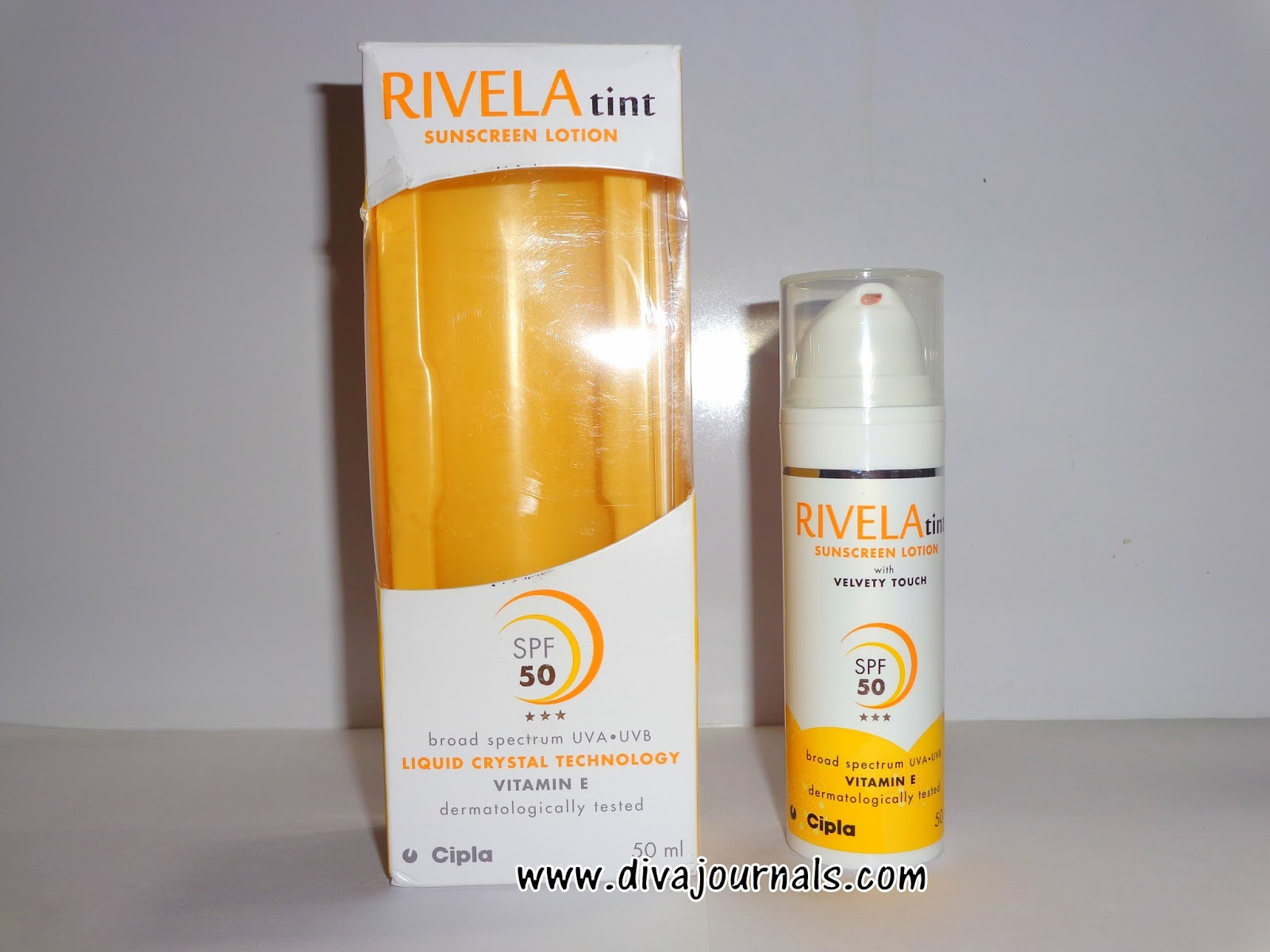 Rivela Tint Sunscreen Lotion SPF 50 Review