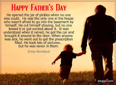 Happy Father's day wishes for father: he opened the jar of pickles when no one else could