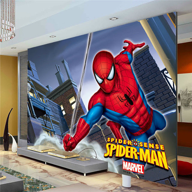 spiderman wall mural amazin spiderman superhero wall mural marvel wallpaper