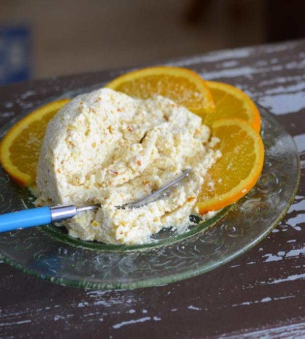 Bocaditos de queso fresco con naranja