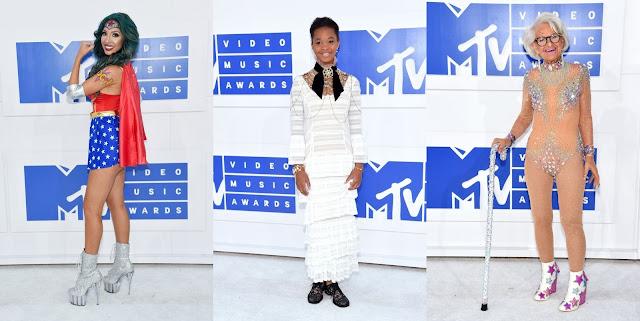 Quem acompanhou nesse domingo o VMA 2016 viu que os artistas estavam inspirados para produzir os looks (SQN) do grande evento de musica secular, que acontece todo o ano e é produzida e televisionada pela MTV.