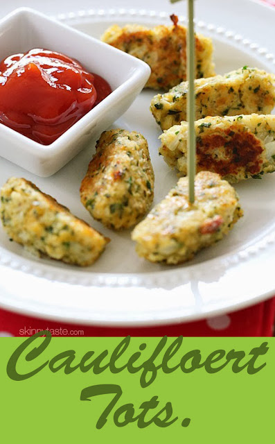 Cauliflower tots recipe.