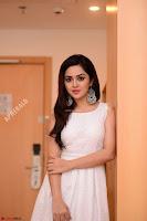 Ragini in Beautiful Cream Sleeveless Gown Perfect makeup ~  Exclusive 016.jpg