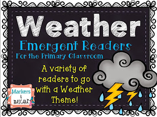 https://www.teacherspayteachers.com/Product/Weather-Emergent-Readers-1714707