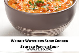 Weight Watchers Slow Cooker Stuffed Pepper Soup