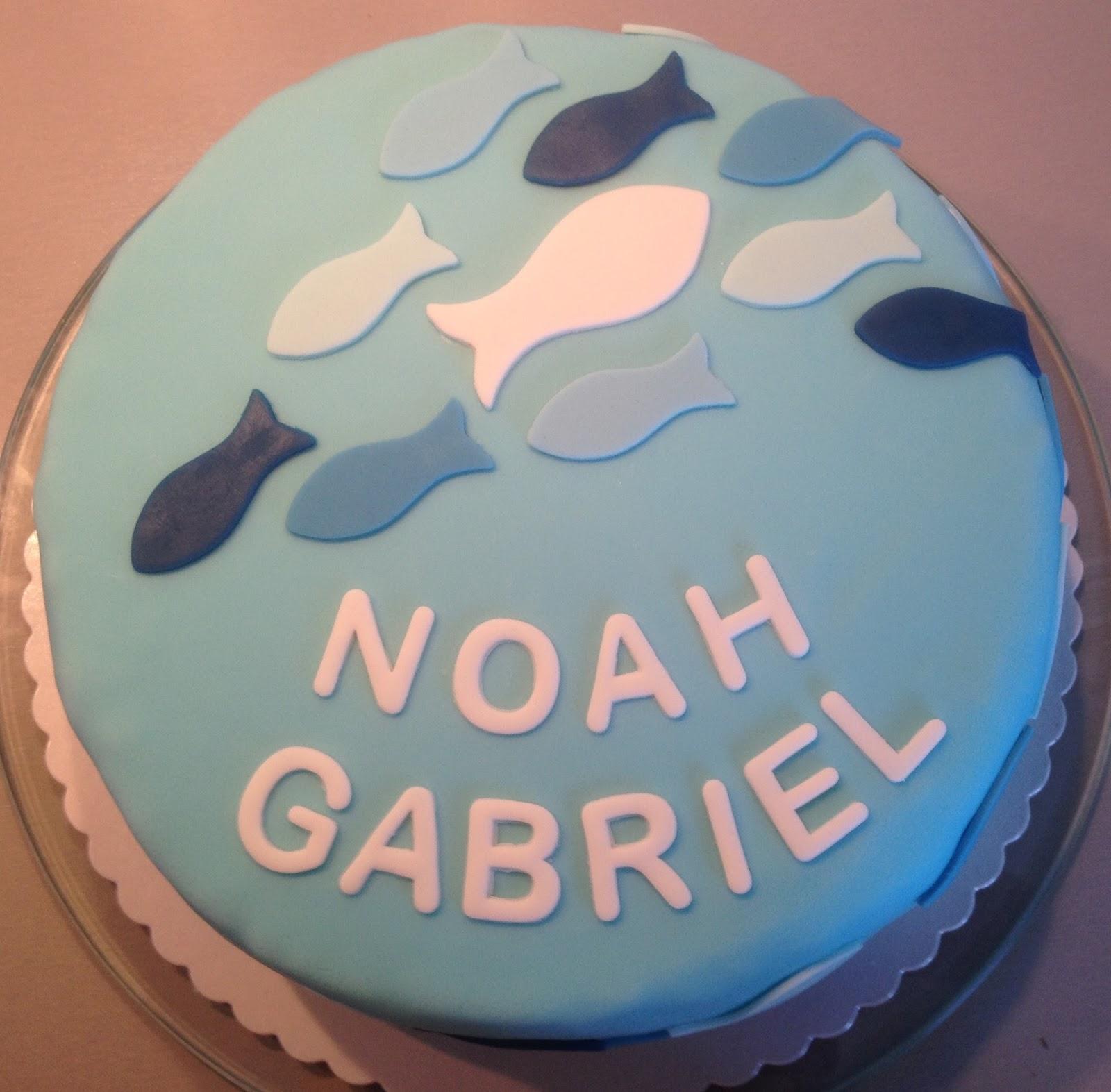 Hannahs Kreativblog Tauftorte fr Noah