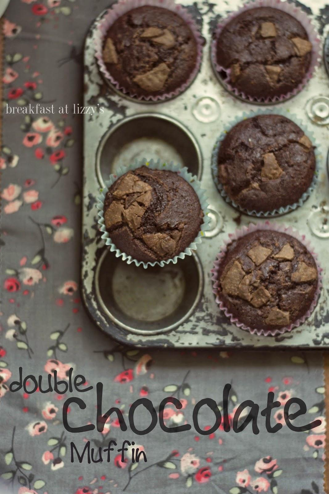 breakfast at lizzy's - muffin doppio cioccolato