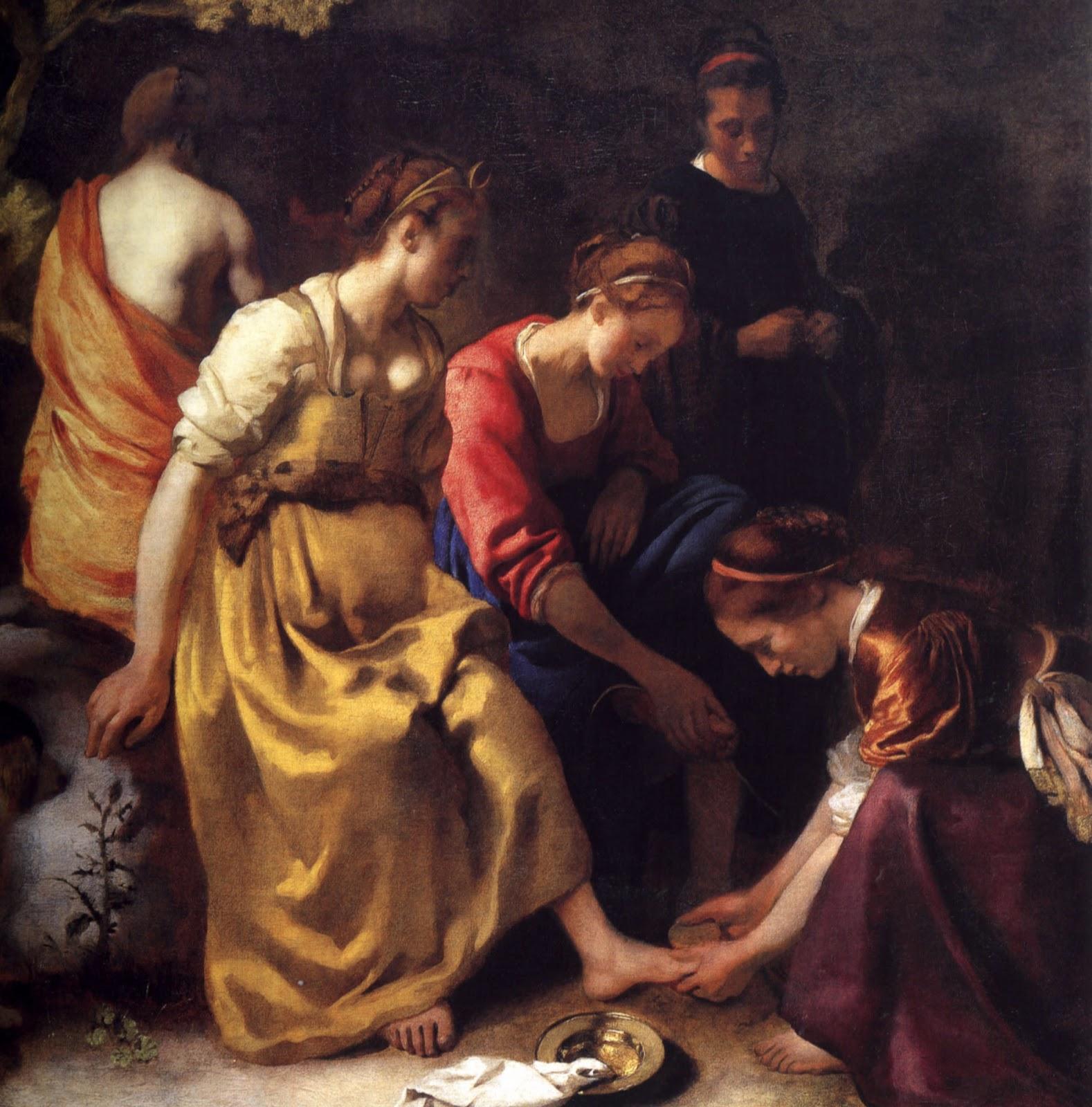 Diana e seus Companheiros - Vermeer, Jan e suas principais pinturas