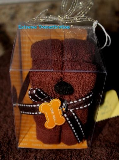 Extreme Domestication Doggy Towel Amp Wash Cloth Set