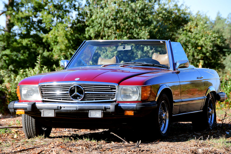 1977 Mercedes Benz 450 Sl Convertible W107 Stuurman Clic And Special Cars