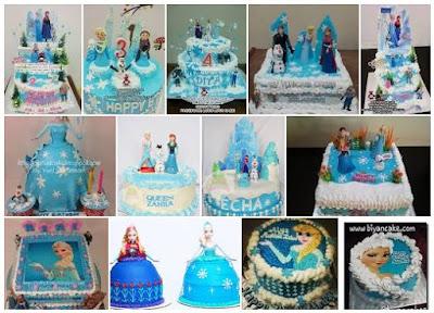 Resep Kue Tart Ulang Tahun Frozen Sederhana dan Mudah