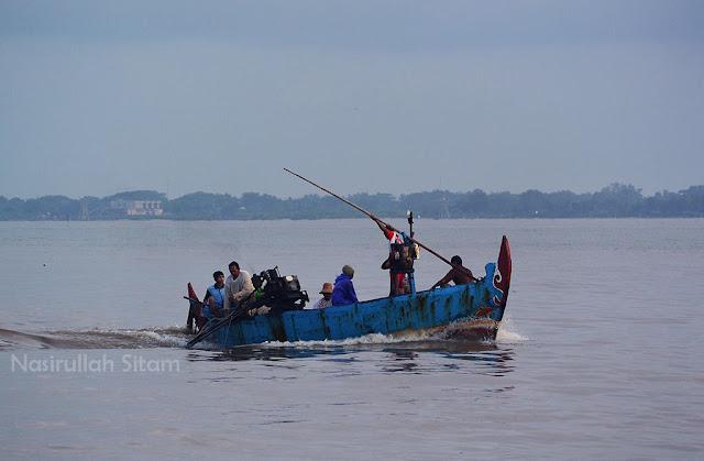 Aktifitas nelayan di Pelabuhan Jepara