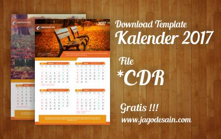 Download Gratis Template Kalender 2017 Terbaru