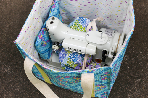 In Color Order Sew Portable Travel Set Mat Tutorial