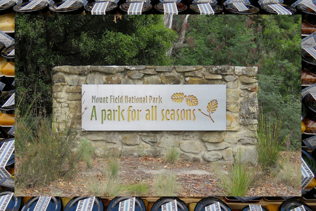 What to see in Hobart: Mount Field National Park Entrance Sign