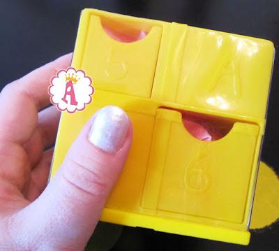 Желтая коробочка сюрпризы Пеппы