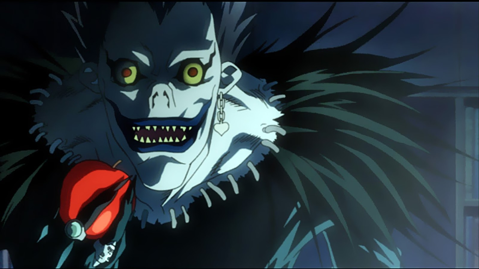 Ryuk, el Shinigami que entrega el Death Note a Light