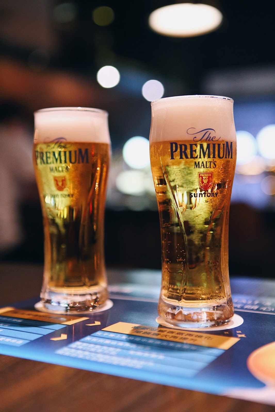 [活動]Lighthouse Beer Bistro X The Premium Malt's《香濃》升級試飲|臺北信義區|日本式艾爾啤酒大革新 - 小食日記