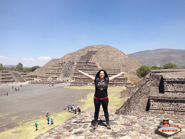 Dia 8: Teotihuacán (México): Pirâmides de Teotihuacán