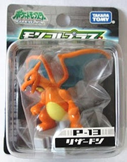 Charizard Pokemon figure Takara Tomy Monster Collection Plus series