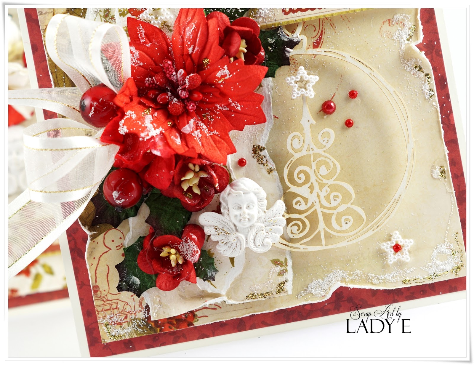 Traditional Christmas Cards Amp Video Tutorial Wild Orchid