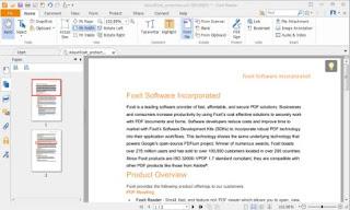 برنامج تشغيل الكتب الالكترونية :  Foxit Reader9.5.0