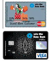 SBI debit cards Classic Debit Card and Paywave touch
