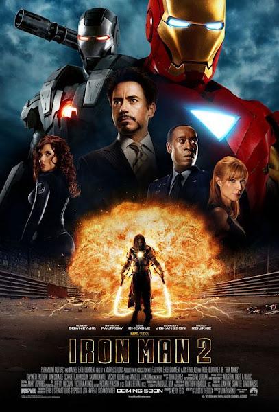 Poster of Iron Man 2 (2010) 720p Hindi BRRip Dual Audio Full Movie Download