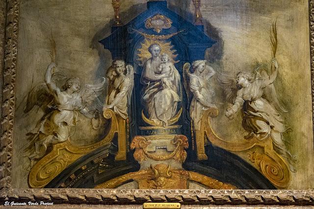 Rubens. Boceto para el altar de los Carmelitas, Casa Rubens - Amberes, por El Guisante Verde Project