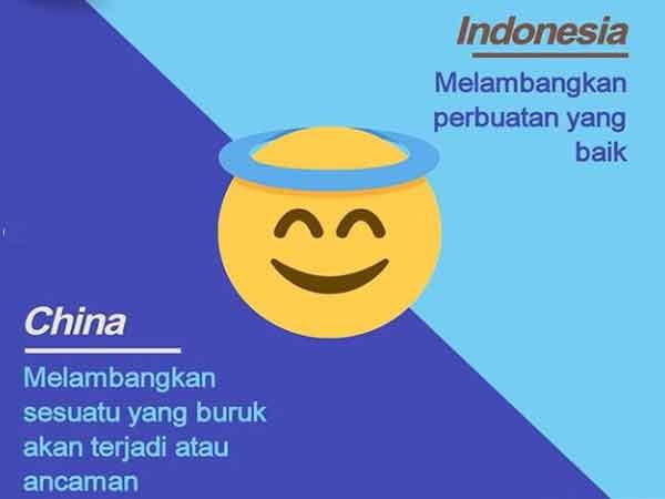 makna berbeda emoji disetiap negara