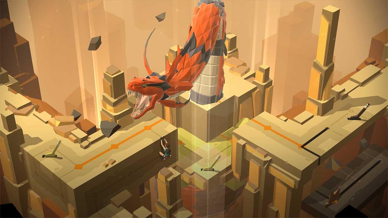تحميل لعبة Lara Croft GO برابط مباشر + تورنت